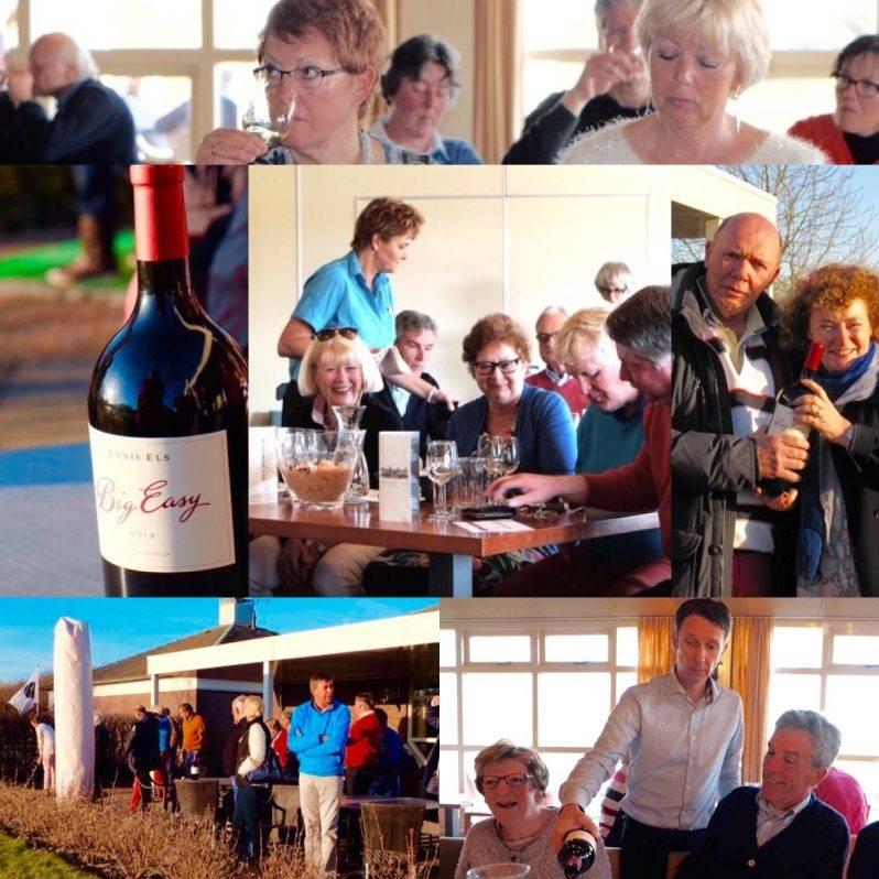 Ernie Els op Golfclub Zeewolde, wijnproeverij en meer met Kaaps Wijnhuis