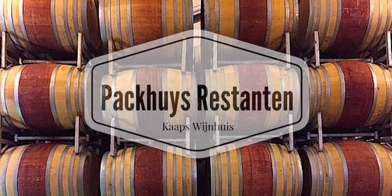 Packhuys Restanten Kaaps wijnhuis gebruikt