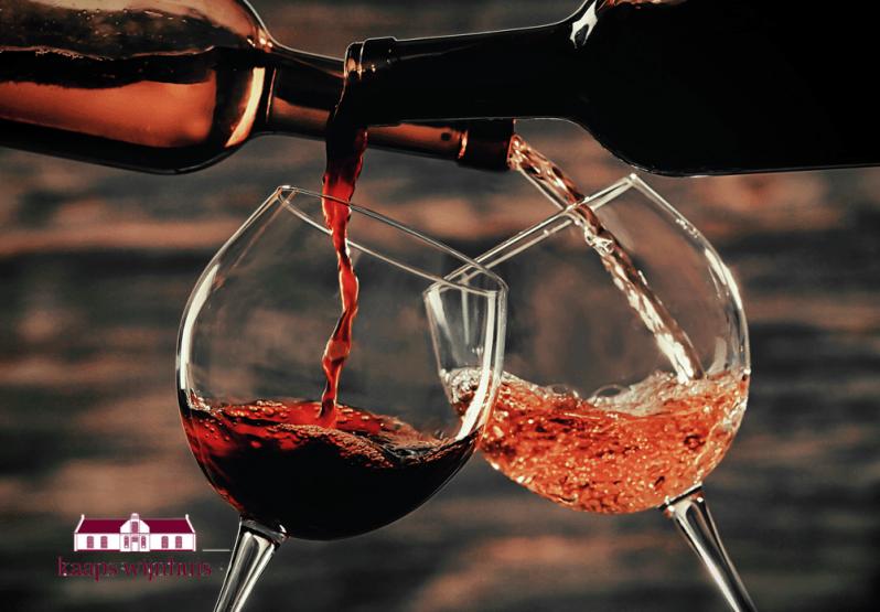 Wijnproeverij Kaaps Wijnhuis -glazenkw