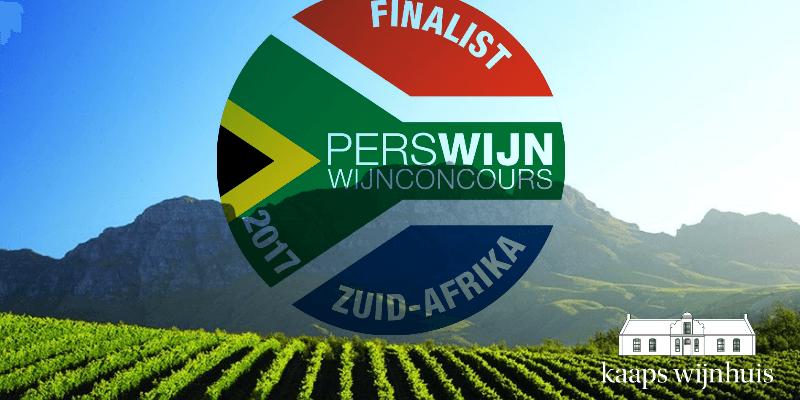 Finalisten Kaaps Wijnhuis in Perswijn Wijnconcours Zuid-Afrika