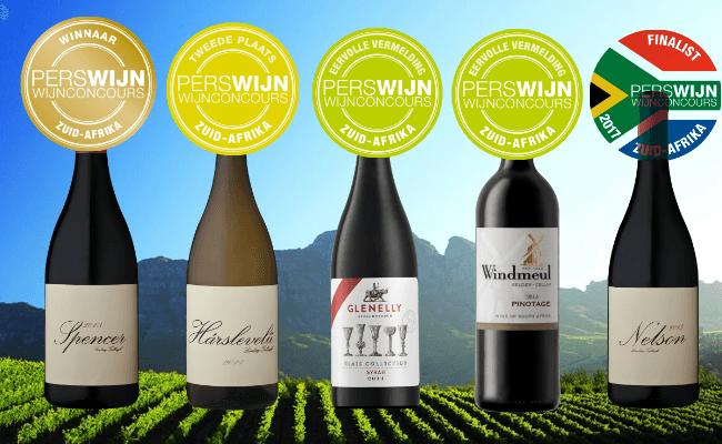Onze Winnaars Perswijn Wijnconcours Zuid-Afrika