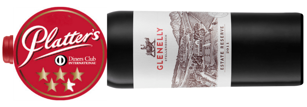 BBQ wijn uit Zuid-Afrika Glenelly Reserve Red Red