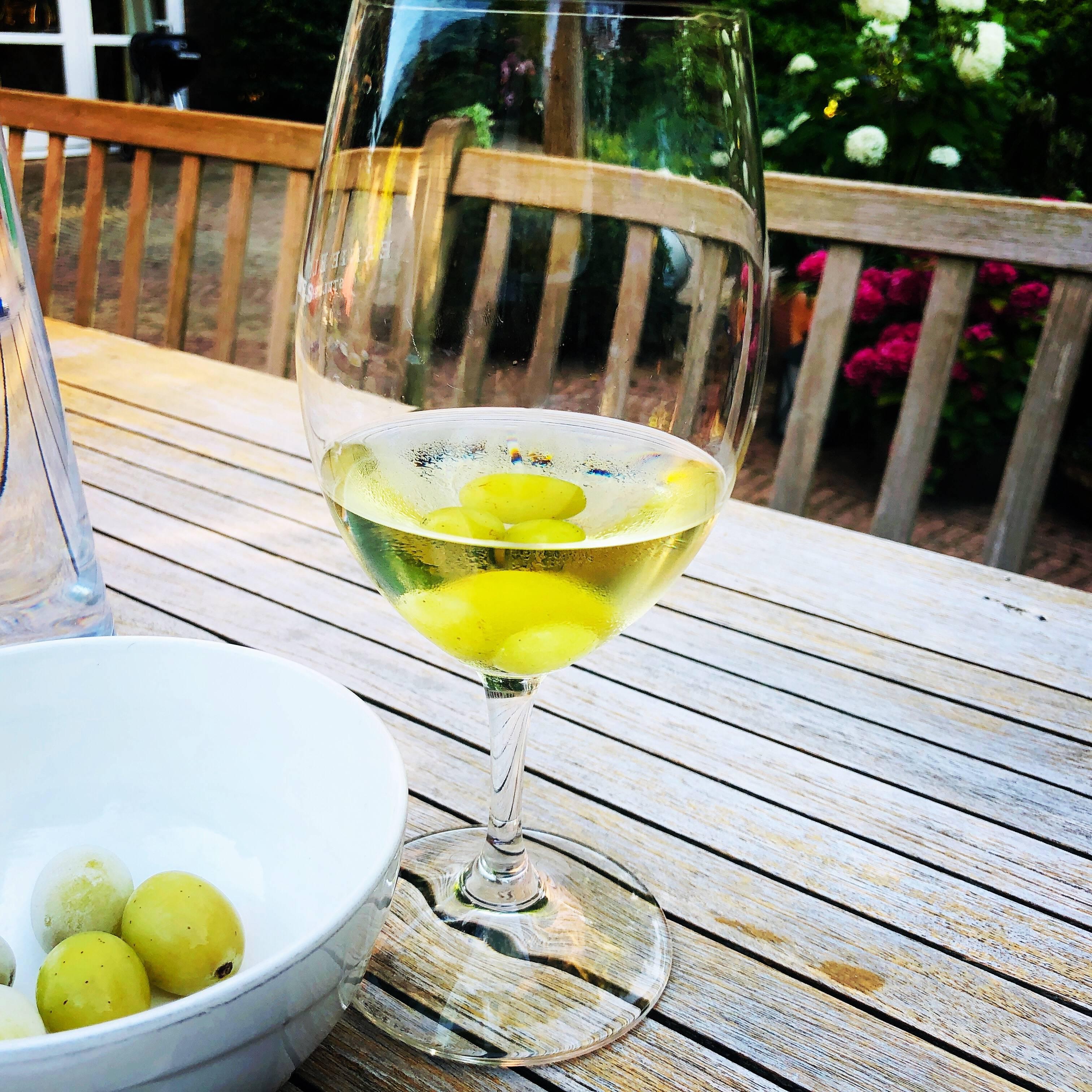 Wijntip: Wijnkoelen met druiven