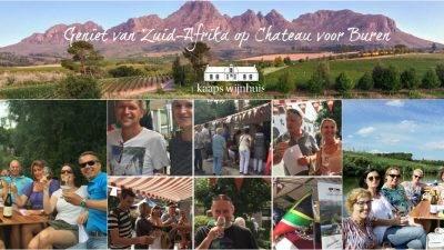 Zuid-Afrikaanse wijnen van Kaaps Wijnhuis op Wijnfestival Chateau voor Buren