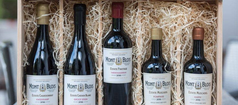 Op Feestelijke wijnproeverij: Mont Blois , nieuw in Nederland