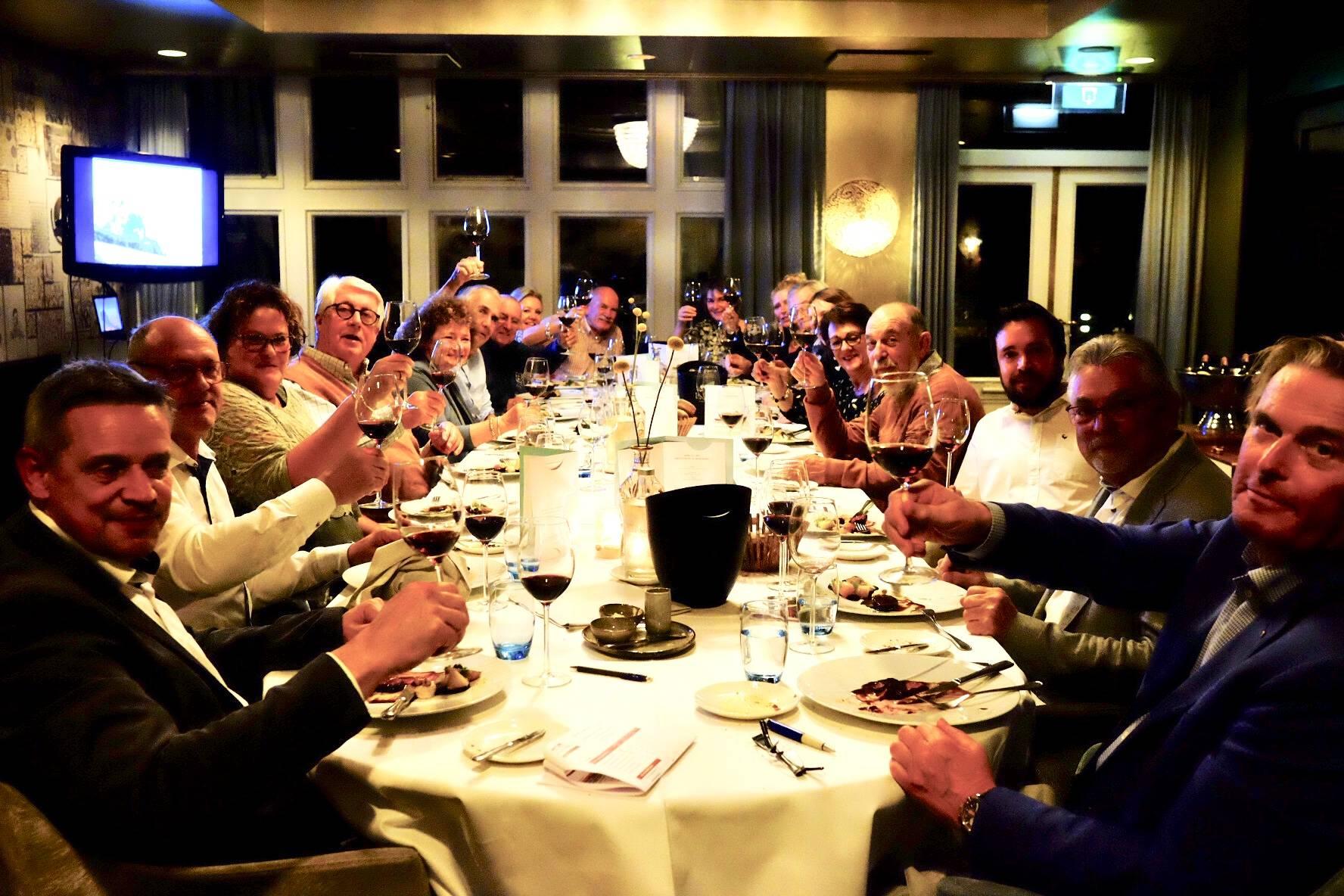 Wijnmakers diner Zuid Afrika in De Wilmersberg