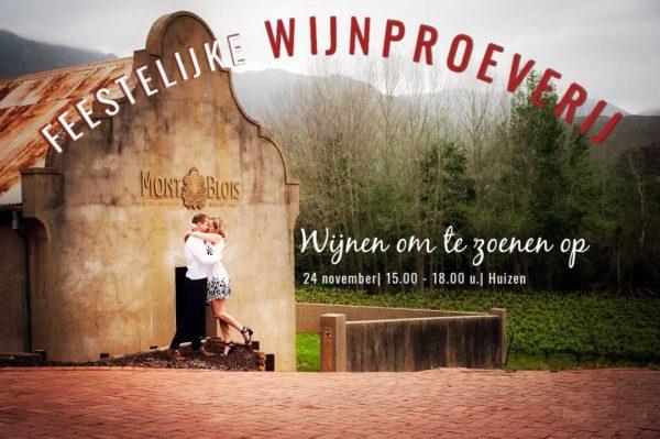 Feestelijke Wijnproeverij Kaaps Wijnhuis 24 november