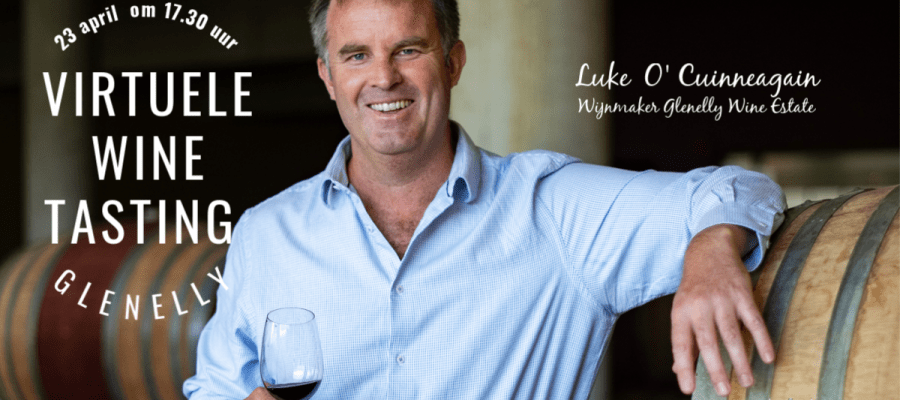 23 april om 17.30 uur - Virtuele Wine Tasting Glenelly Glenelly