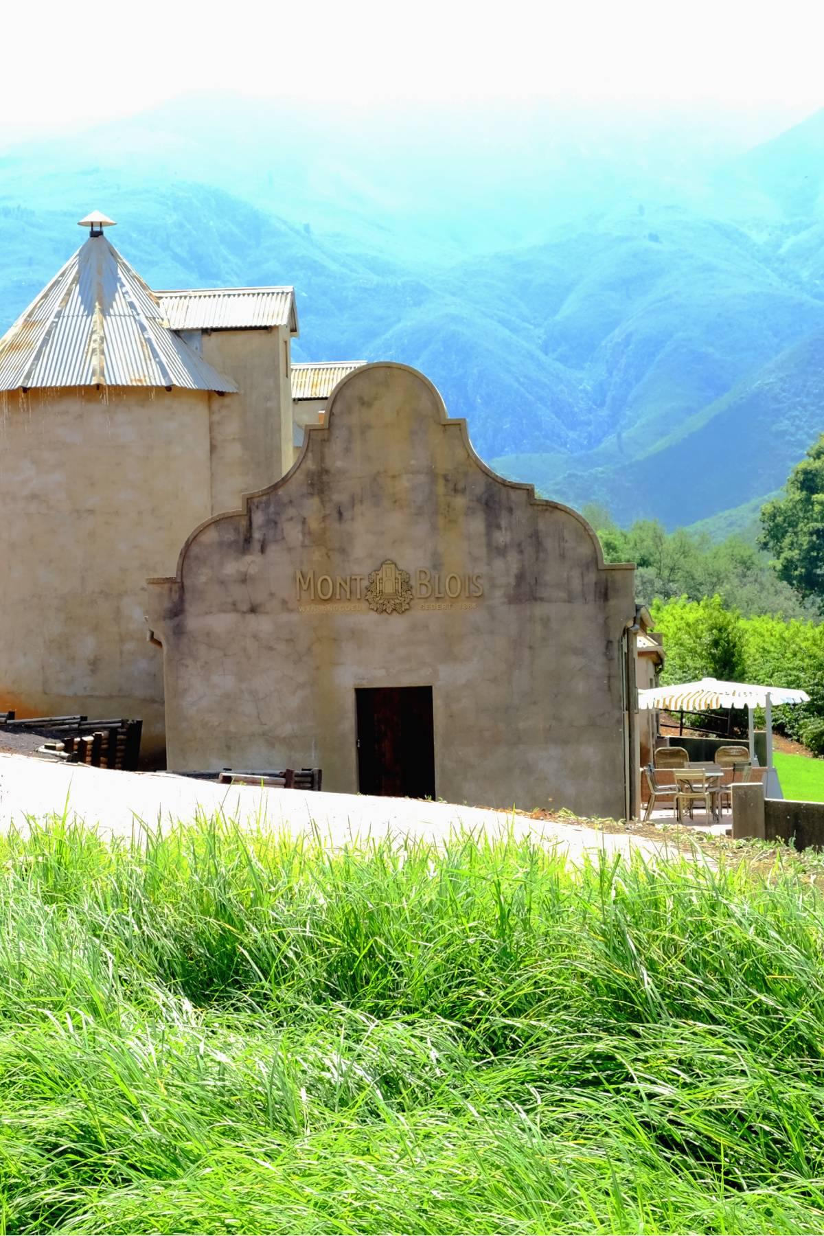 Mont Blois Wines uit Zuid Afrika Tasting Station