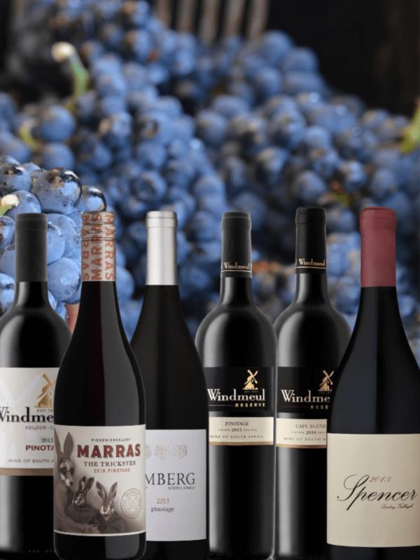 Wijnpakket Pinotage uit Zuid-Afrika