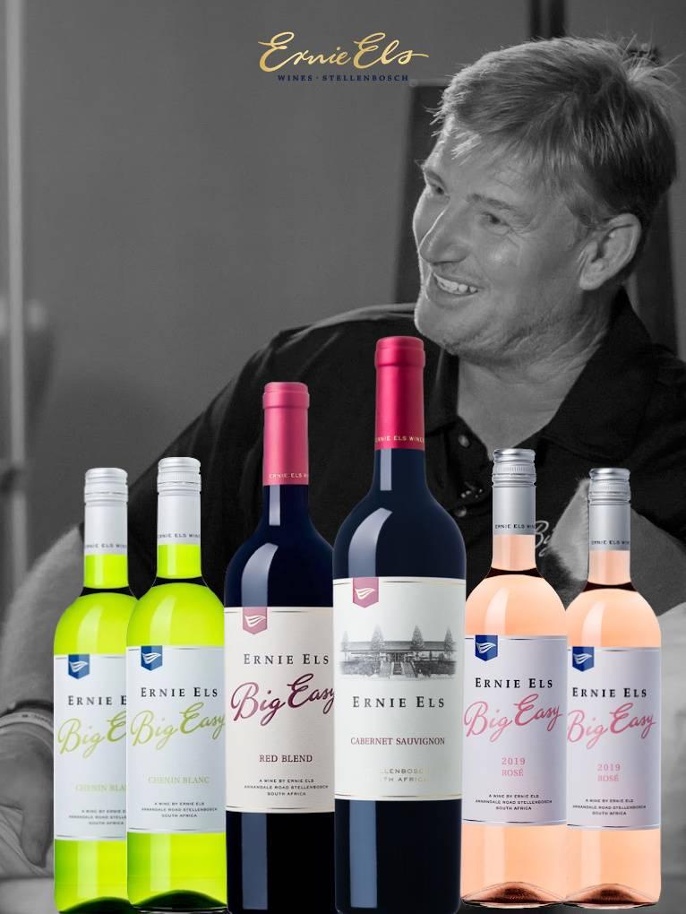 Ernie Els wijnpakket