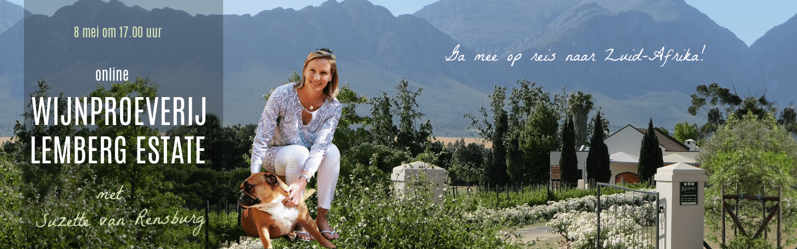 Online wijnproeverij Lemberg op 8 mei